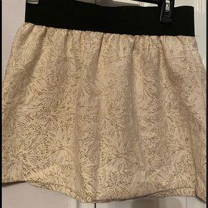 Delia's metallic skirt